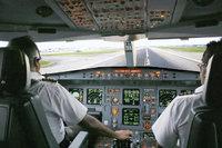Kapitän - Kapitän und Kopilot im Cockpit