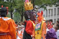 Karnevalskostüm - Verschiedene Karnevalskostüme
