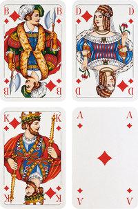 Karo - Karo (Bube, Dame, König, Ass)