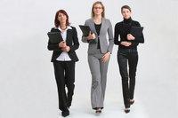 Karrierefrau - Frauen, gekleidet im Stil von Karrierefrauen