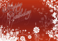 Karte - Karte zum Geburtstag