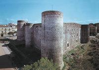Kastell - Castello Ursino in Catania (Sizilien)