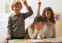 Kid - Kids in der Schule