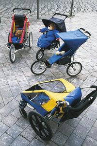 Kinderwagen - Verschiedene Kinderwagen