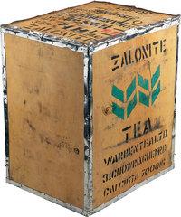 Kiste - Kiste mit Tee