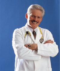 Kittel - Arzt in einem weißen Kittel