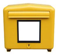 Klappe - Klappe am Briefkasten zum Einwurf der Post