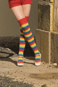 Kniestrumpf - Mädchenbeine mit Kniestrümpfen
