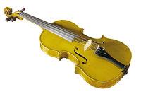Körper - Geige mit Körper und Hals