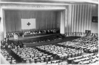 Konferenz - Internationale Konferenz des Roten Kreuzes
