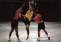Kontakt - Kontakt beim Handball