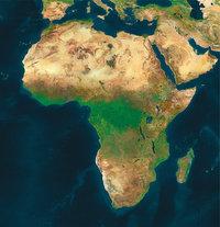 Kontinent - Der Kontinent Afrika