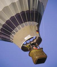 Korb - Ballon mit Korb