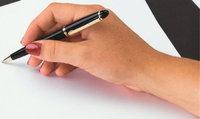 Kugelschreiber - Hand mit Kugelschreiber