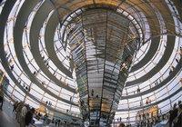 Kuppeldach - Kuppeldach des Berliner Reichstagsgebäudes (innen)