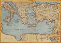 Landkarte - Historische Landkarte