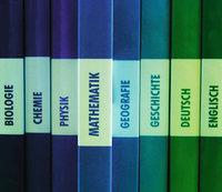 Lehrbuch - Lehrbücher verschiedener Fächer