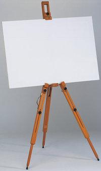 Leinwand - Staffelei mit einer Leinwand