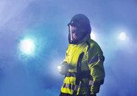 Licht - Feuerwehrmann mit Licht