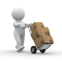 Lieferung - Lieferung von Paketen