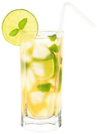 Limonade - Limonade in einem Glas