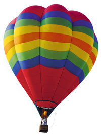 Luftfahrt - Luftfahrt mit einem Ballon