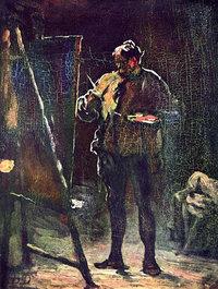 Maler - Maler vor der Staffelei