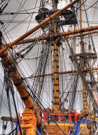 Mast - Mast eines Schiffes