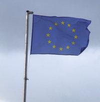 Mast - Mast mit Fahne