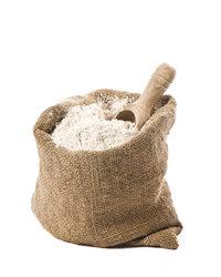 Mehl - Mehl in einem Sack