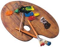 Mischung - Mischung von Farben mit einem Pinsel