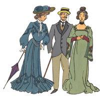 Mode - Die Mode der Jahrhundertwende