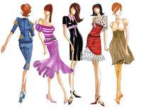 Mode - Präsentation der neusten Mode