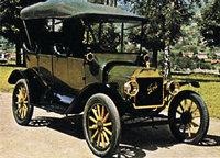 Modell - Oldtimer: Modell T von Ford