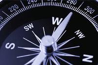 Nadel - Kompass mit Nadel