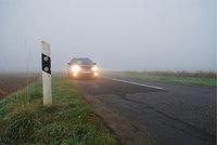 Nebelleuchte - Nebellampen an einem Auto
