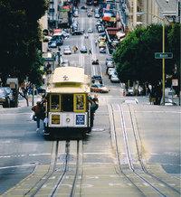Neigung - Neigung einer Straße (in San Francisco)