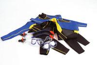 Neoprenanzug - Neoprenanzüge mit Taucherbrille und Schnorchel