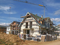 Neubau - Neubau von Häusern
