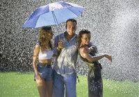 Niederschlag - Menschen bei Niederschlag