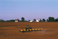 Nutzung - Landwirtschaftliche Nutzung eines Gebiets