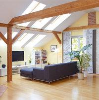 Oberlicht - Dachwohnung mit Oberlicht