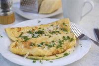 Omelett - Omeletten auf einem Teller