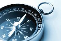 Orientierungshilfe - Kompass als Orientierungshilfe