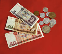 Ostgeld - Scheine und Münzen des Ostgeldes