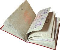 Papier - Papiere zum Reisen