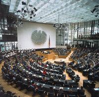 Parlament - Deutsches Parlament von innen