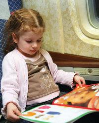 Passagier - Kind als Passagier im Flugzeug