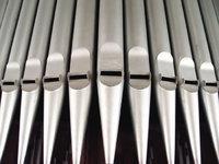 Pfeife - Pfeifen einer Orgel