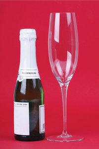 Piccoloflasche - Piccoloflasche mit Glas